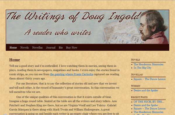 The Writings of Doug Ingold -  Humboldt County author