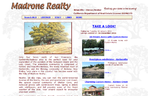 Madrone Realty - finding your place in the country real estate